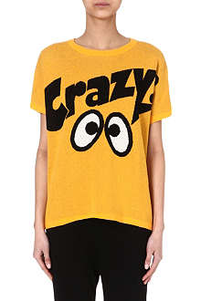 MINI CREAM Crazy eye stripe t-shirt