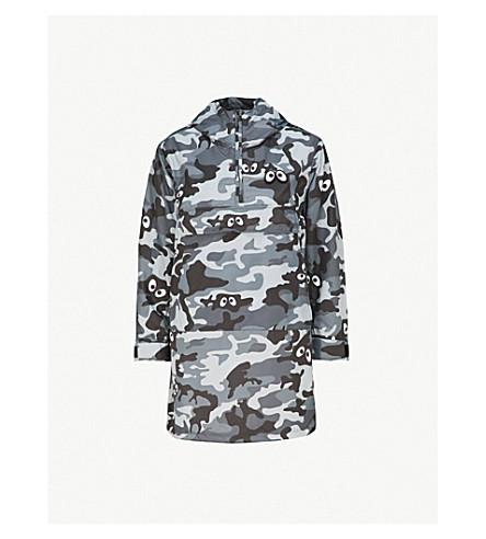 8374de824a917 MINI CREAM - Camouflage-print hooded shell jacket | Selfridges.com