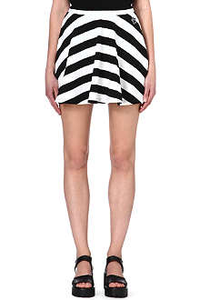 MINI CREAM I.T striped skater skirt