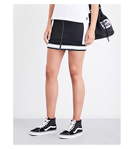 MINI CREAM Yummy Cream satin mini skirt (Bkx