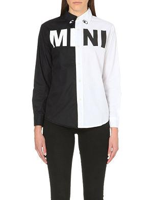 MINI CREAM Mini wish contrast colour cotton shirt