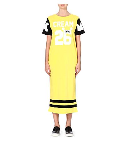 MINI CREAM I.T 26 Eyes dress (Yellow