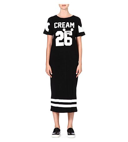 MINI CREAM I.T 26 Eyes dress (Black