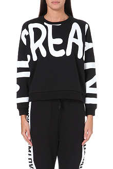 MINI CREAM I.T. Oversized printed sweatshirt