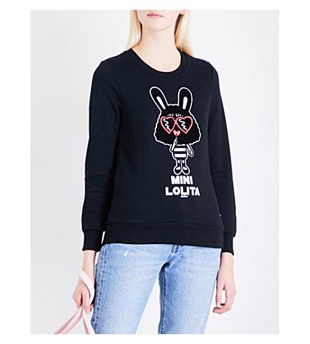 MINI CREAM Mini Lolita jersey sweatshirt (Bkx