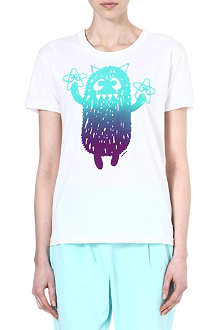 MINI CREAM I.T monster cotton t-shirt
