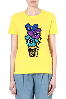 MINI CREAM I.T ice cream cotton t-shirt