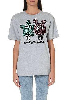 MINI CREAM I.T graphic-print friendship t-shirt
