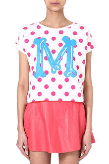 MINI CREAM I.T Polka-dot t-shirt
