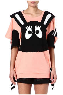 MINI CREAM I.T cartoon bunny t-shirt