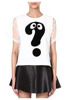 MINI CREAM I.T Question Mark t-shirt