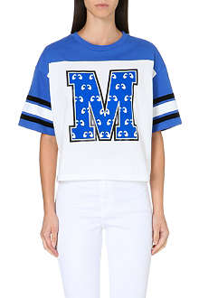 MINI CREAM M varsity t-shirt