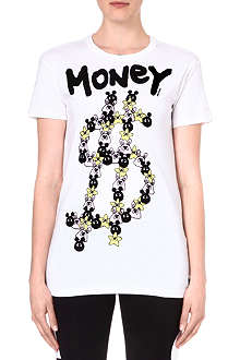 MINI CREAM I.T Money cotton t-shirt