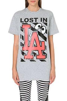 MINI CREAM I.T LA printed t-shirt