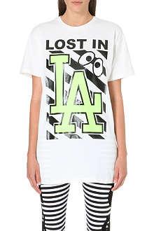 MINI CREAM LA printed t-shirt