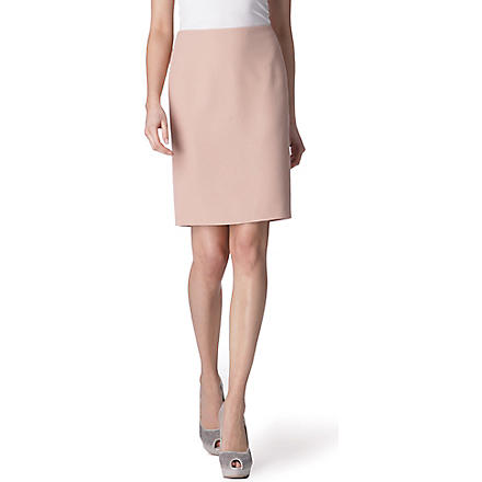 ALEXANDER MCQUEEN Pencil skirt (Blush