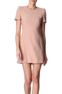 ALEXANDER MCQUEEN Crepe dress
