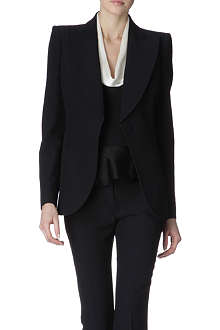 ALEXANDER MCQUEEN Structured-shoulders jacket