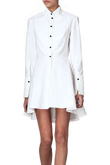 ALEXANDER MCQUEEN Textured shirt dress
