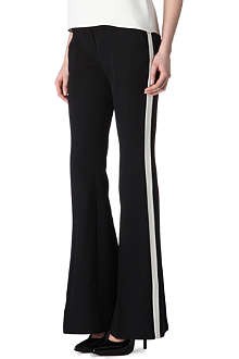 ALEXANDER MCQUEEN Side-stripe trousers