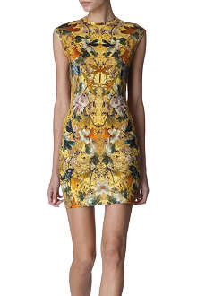 ALEXANDER MCQUEEN Dragonfly knitted dress