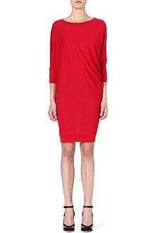 ALEXANDER MCQUEEN S-bend knitted dress
