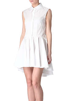 ALEXANDER MCQUEEN Cotton shirt dress