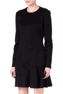 ALEXANDER MCQUEEN Scuba flippy dress