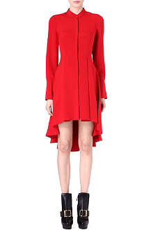 ALEXANDER MCQUEEN Tailback dress