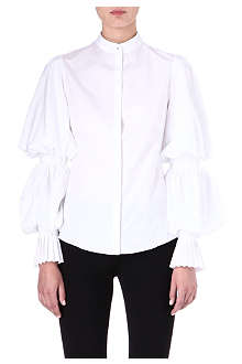 ALEXANDER MCQUEEN Balloon-sleeved shirt