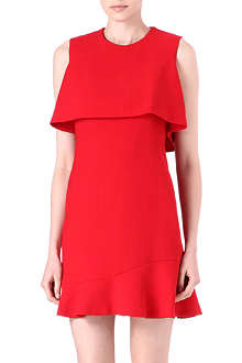 ALEXANDER MCQUEEN Double-layer sleeveless dress