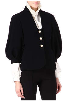 ALEXANDER MCQUEEN Balloon wool jacket
