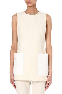 ALEXANDER MCQUEEN Patch pocket top