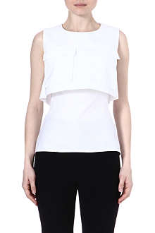 ALEXANDER MCQUEEN Pockets cotton top