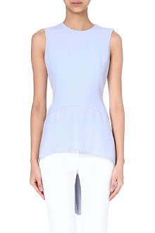 ALEXANDER MCQUEEN Flared-hem sleeveless top