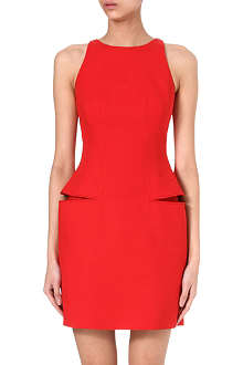ALEXANDER MCQUEEN Split side-pocket dress