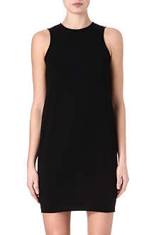 ALEXANDER MCQUEEN Fine-knit boxy dress