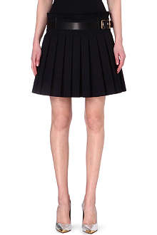 ALEXANDER MCQUEEN Pleated kilt skirt