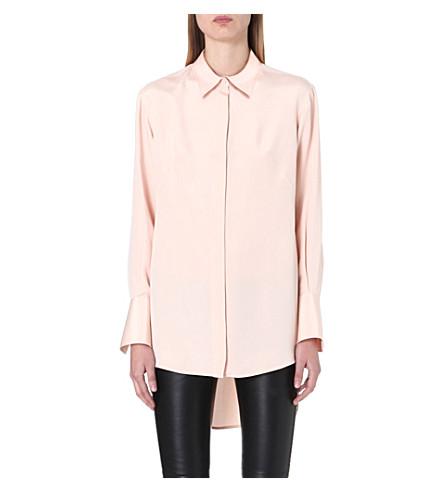 ALEXANDER MCQUEEN Silk shirt (Pink