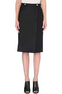 ALEXANDER MCQUEEN Fitted pencil skirt