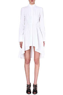 ALEXANDER MCQUEEN Cotton fishtail shirtdress