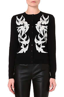ALEXANDER MCQUEEN Swallows cardigan