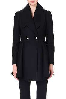 ALEXANDER MCQUEEN Double-breasted wool coat