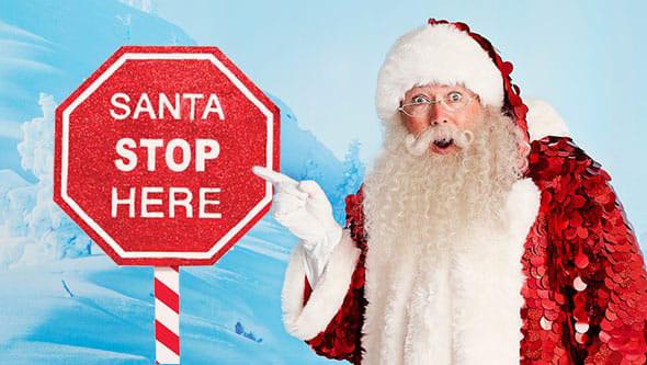 Santa At Selfridges