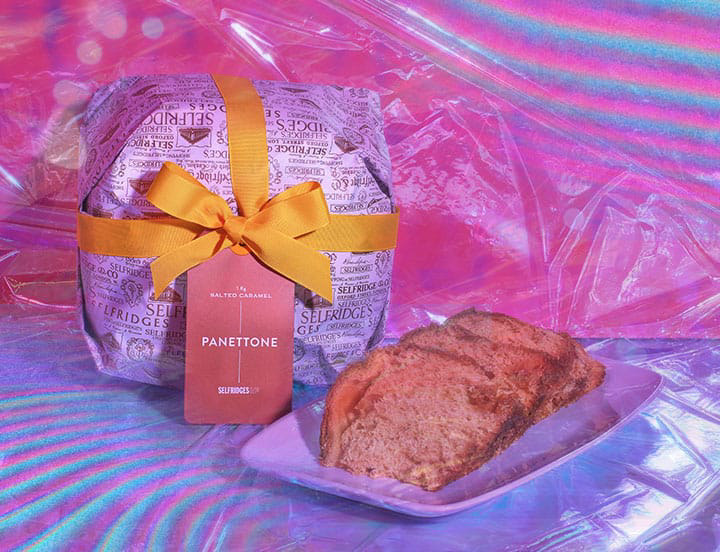 SELFRIDGES SELECTION salted caramel panettone