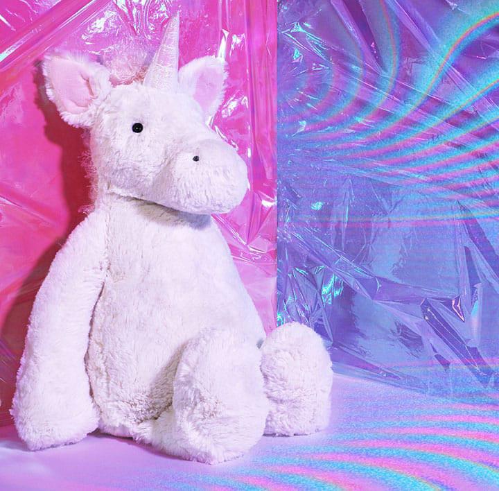 JELLYCAT unicorn soft toy