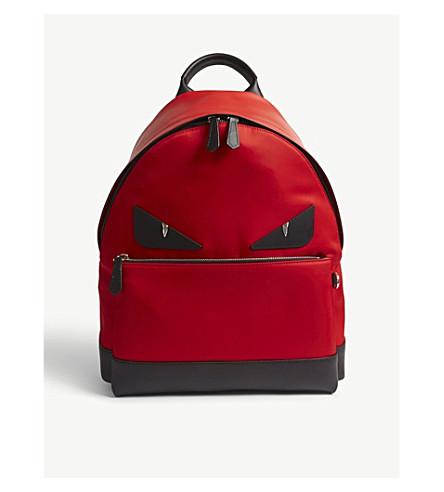 FENDI Monster backpack (Red