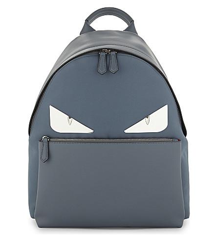 FENDI Monster backpack (Storm blue