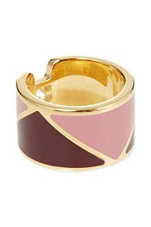 FENDI Wide bi-colour ring