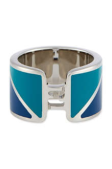 FENDI Bicolour enamel ring